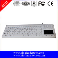Water-proof and Chemical-proof Silicone Keyboard For Hospital Using