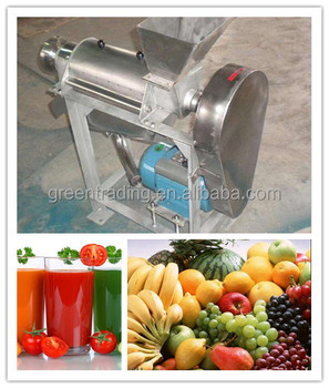 Commercial use tomato pulping machine