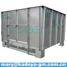 stainless steel and galvanized coated Steel pressured water tank