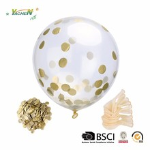 12inch Latex Balloons With Paper Confetti for Party Decoration