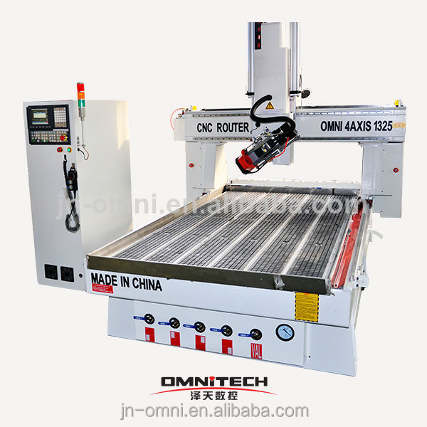 Alibaba hobby 2014 new omni 4 axis multicam cnc router for sale