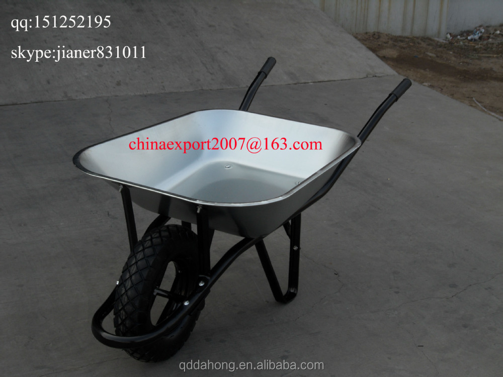 Glavanized Wheelbarrow for Angola Market WB6400