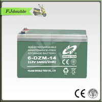 Electric bike /scooters/golf cart application 12v 14ah battery made in China