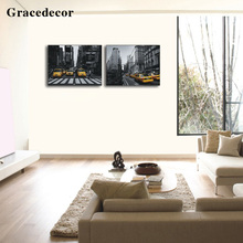 Furniture Decor Photo Print Wall Arts Street Painting