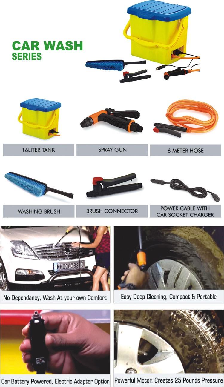 Wholesale 16l High Performance Car Wash Machine Mobile