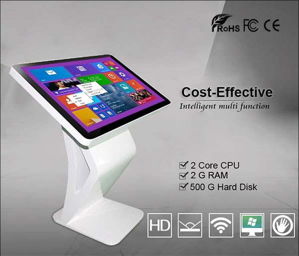 42 inch interactive touch screen stand alone 3g wifi lcd interactive kiosk
