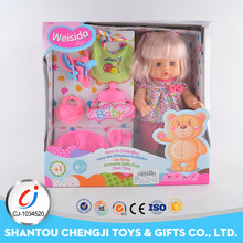 New children lovely mini plastic warm baby doll with low price