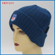 Wholesale China import custom knit winter beanie hats