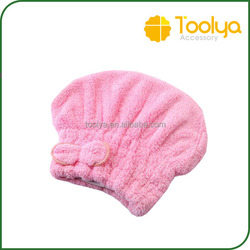 Womens Girls Lady's Magic Quick Dry Bath Hair Makeup Cosmetics Cap Bathing Tool Drying Towel Head Wrap Hat