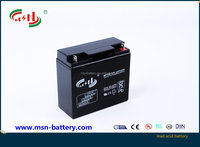 12v20ah long service life VRLA battery