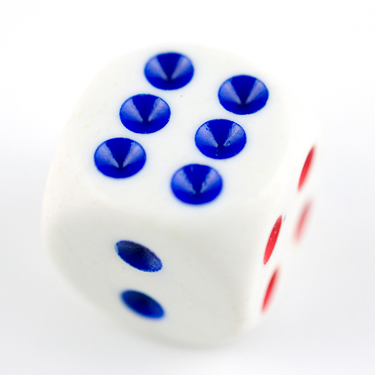 custom plastic bulk printed bulk hot precision stock casino giant polyhedral dice wholesale with logo