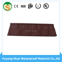 Cheap Stone Coated Metal Roof Tile flat roof tiles clear roof tiles