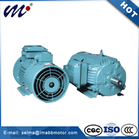 Frequency Low Noise Speed Regulation mini electric motor 3 phase