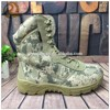 Wholesale outdoor Camouflage oxford cloth camo combat tactical boots
