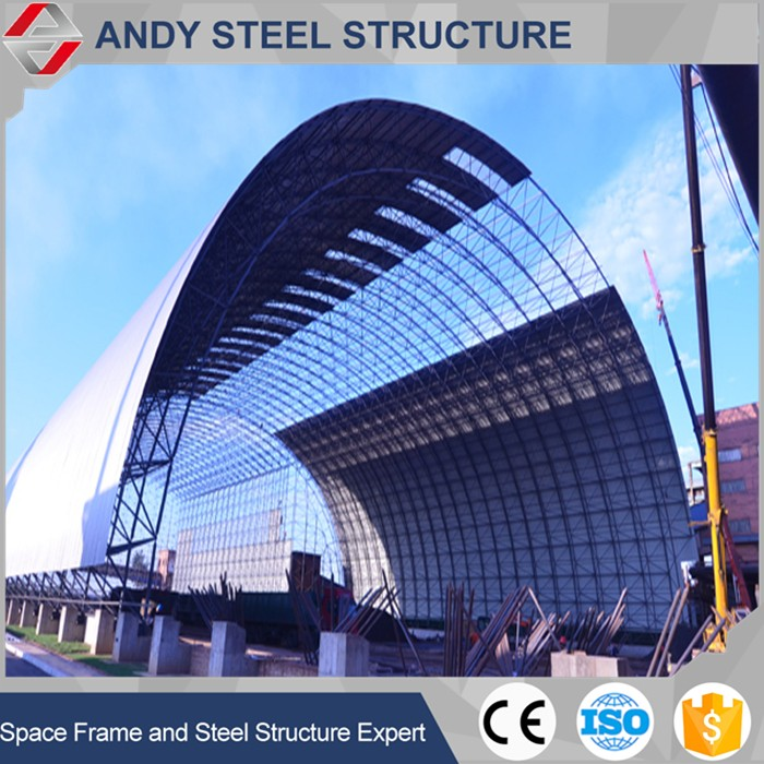 Factory price Steel Roof Construction for Coal Storage