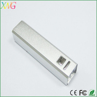 high quality lipstick 2600mah power bank/ mobile power pack