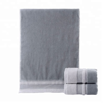 wholesale 100% cotton white customize hotel towels for 5 star