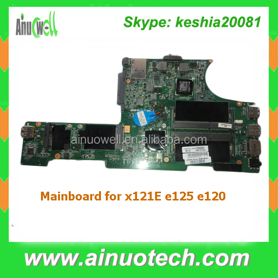 Notebook system board x121E e125 e120 laptop motherboard for lenovo mainboard replacement
