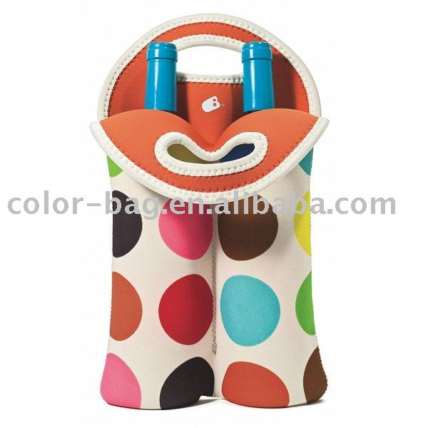 fashion bottle cooler bag,easy carrybag