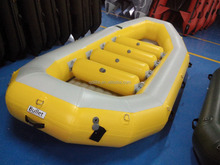 4.7m China inflatable the boat pvc pontoons raft boat