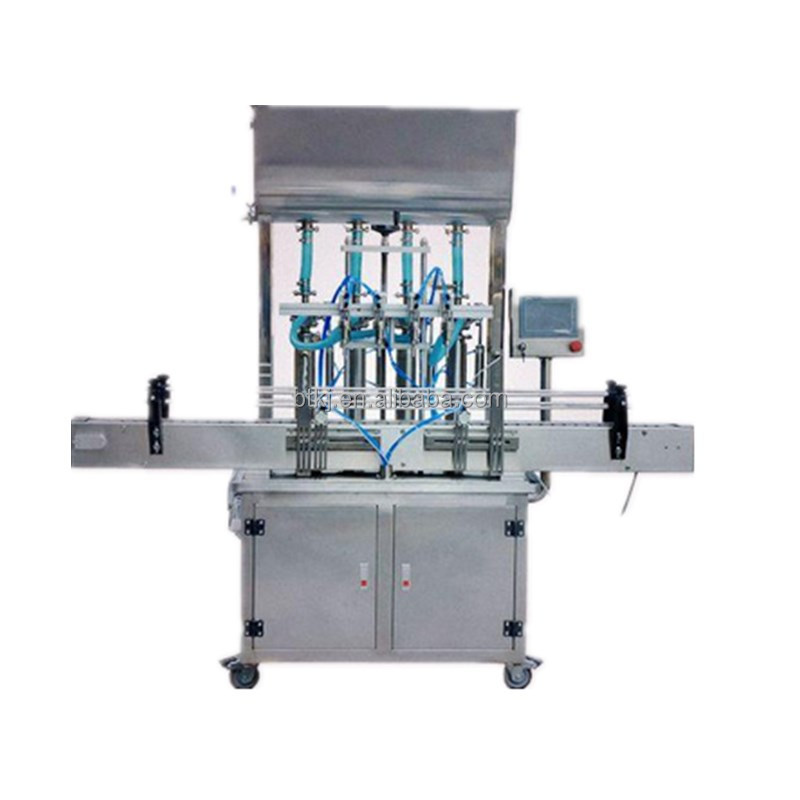 High Speed Full Auto Lube Oil Body Spray Shampoo Filling Packing Machine