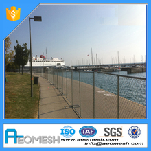 [Trade Assurance] rubber temporary fence feet , temporary fence panel