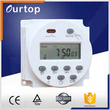 High Quality Electrical Weekly mechanical 230vac Energy Monitor Socket Timer Switch