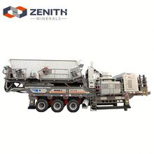 Environmentally friendly KE500C55-4 small hard rock mobile crushing plant for sale in canada