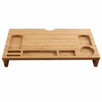 Bamboo Laptop Desk Table Multifunctional Bamboo