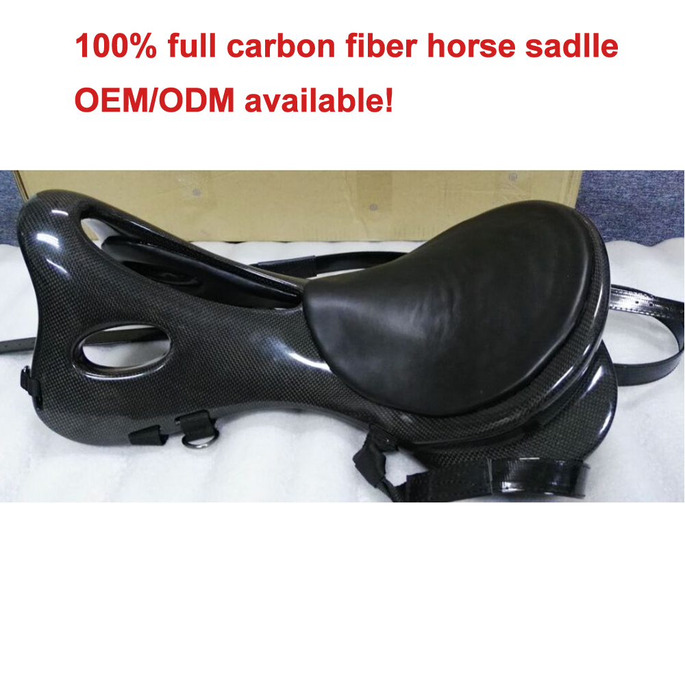 Super lightweight model 100% full carbon fiber endurance horse saddles for sale