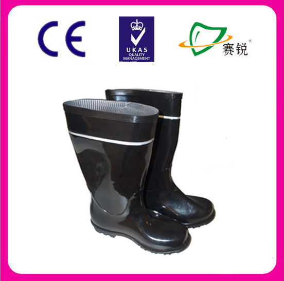 reflective custom-made rubber rain boot