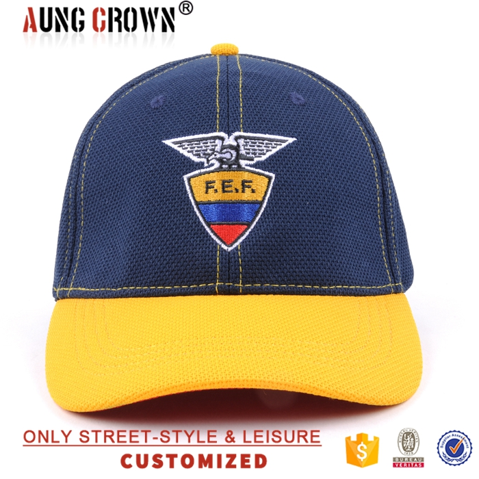 Stretch fit Printing Curved Brim Animal Embroidery Baseball Caps Wholesale