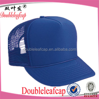 Polyester Foam Front High Crown Golf Style Custom trucker hats/ Mesh Caps