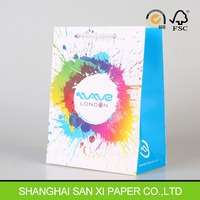 Free samples! Standard size & Laminated Shopping Paper Bags