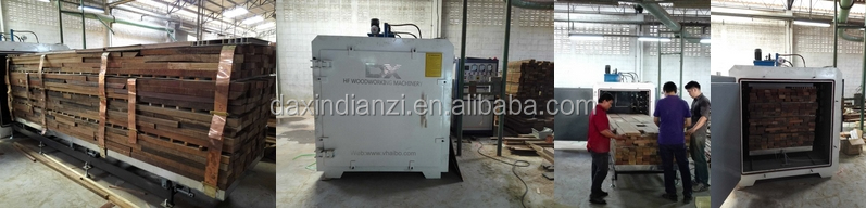 High frequency timber vacuum dryer DX8.0