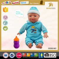 2015 Funny baby dolls toys wholesale kids baby doll toy