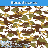 HD-067 CARLIKE 1.52x30M High Quality Bomb Sticker Film Wrap Car Body