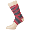 red blue skin color elastic spandex nylon made suitable for knee calf ankle compression sleeve