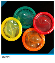 The most gorgeous oem yellow/green/red/orange color flavour condom with 12pcs/box