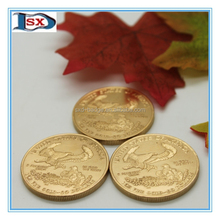 Wholesale us 50 dollars 1 oz gold coin,tungsten replica coin with thick gold plating