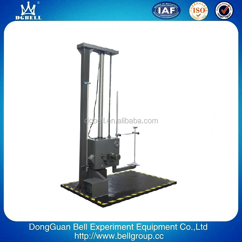 ISO Certificate Automatical Drop impact Test Machine for sale