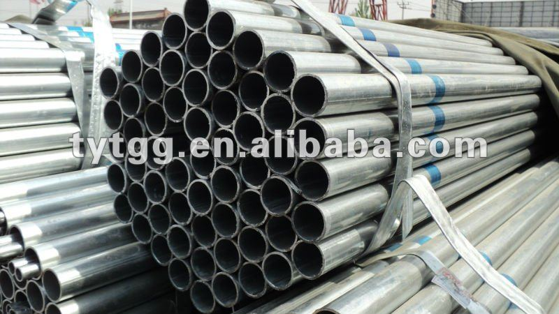 Tian jin leading manufacture pre galvanized steel tube