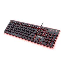 Latest Redragon Double-color Injection Keycap Back lit Logo Gaming Custom Keyboard