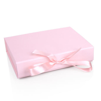 Custom Fashion Luxury Bow Ribbon Printed Paper Jewelry Packaging Boxes