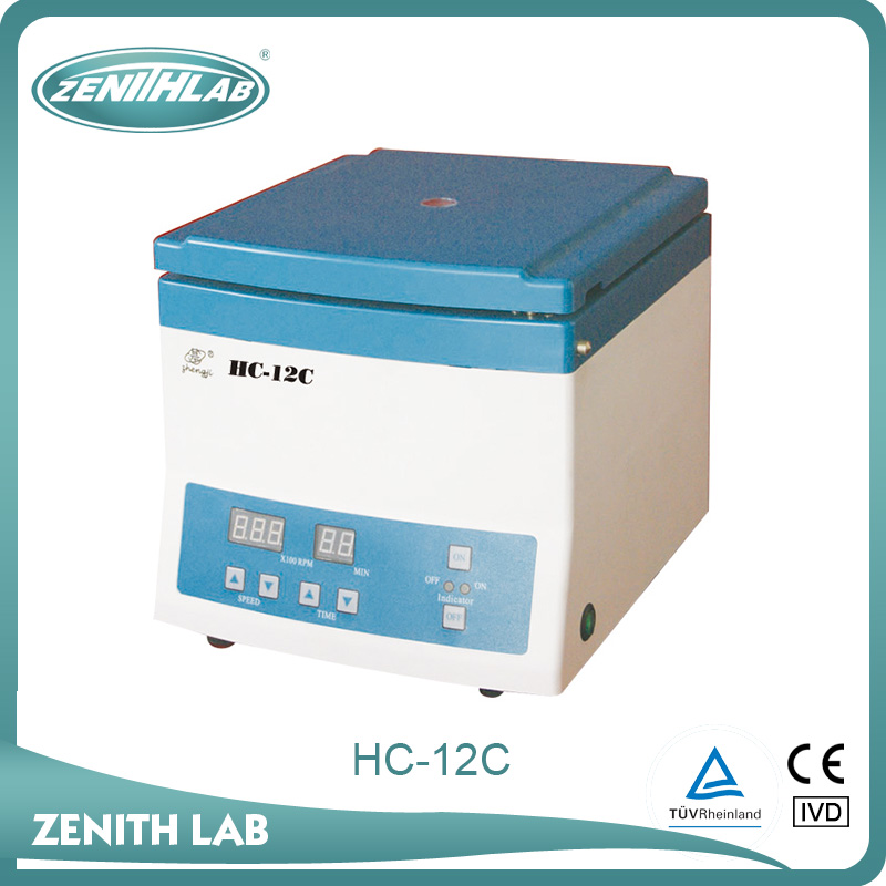 lab micro hematocrit centrifuge machine price HC-12C with high power brushless motor