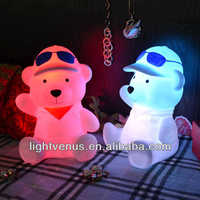 Ceramic+Switch,ABS Material and CE Certificate Standard Rabbit Night Light for Children's Bedroom