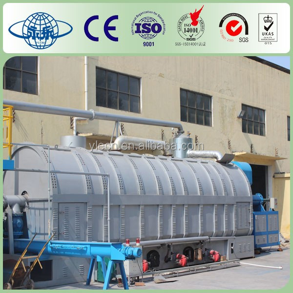 High quality waste plastic/tyre pyrolysis machine and pyrolysis oil distillation plant