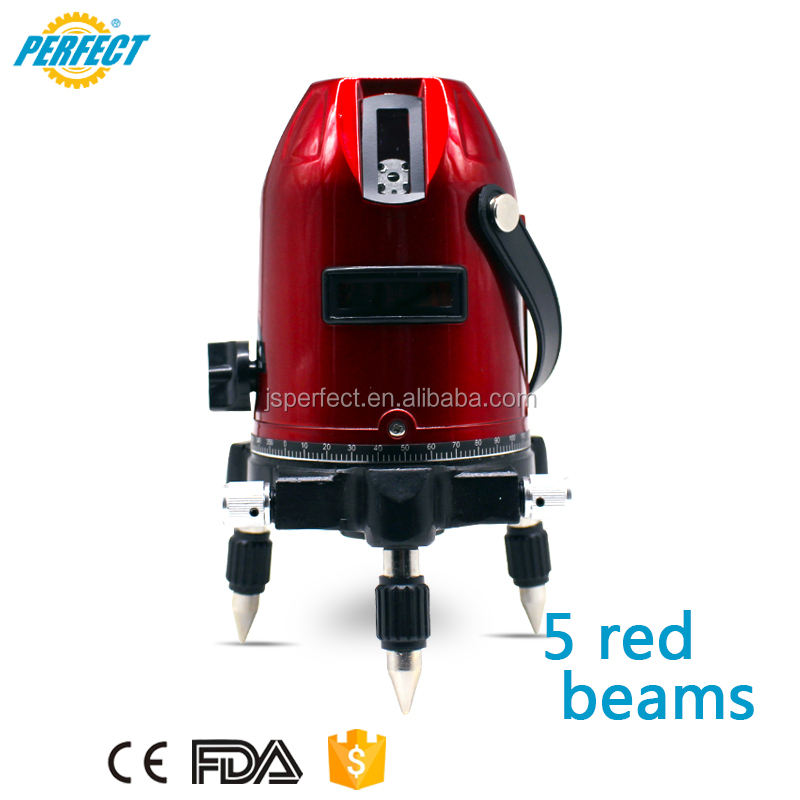 Professional automatic rotation red laser line level equipment OEM