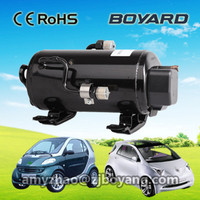 R134a caravan accessories12v/24v Electric compressor refrigerant for battery powered portable air conditioner for cars
