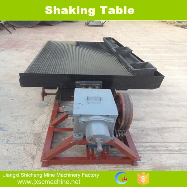 high quality alluvial gold concentrate 6-s shaking table